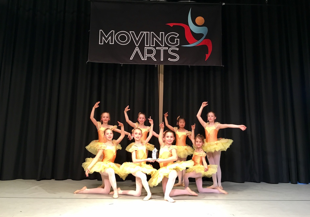 Ballettschule Kaiserslautern  2. Platz  bei  dem MovingArts Turnier am 26.03.2017